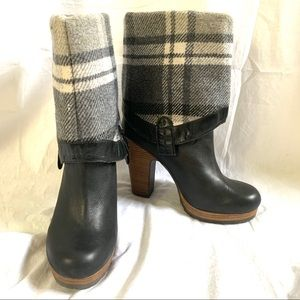 Lucky Brand black heeled boots Northview Size 10